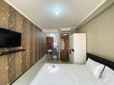 Strategic & Relaxing Studio at Gateway Pasteur Apartment By Travelio