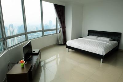 2BR Denpasar Residence Penthouse Apartment At Kuningan City By Travelio