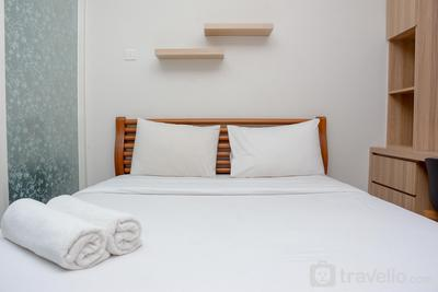 Homey and Cozy Living 1BR Apartment at Atlanta Residences By Travelio