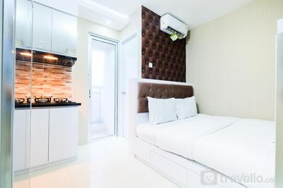 City View @ Studio Room Bassura City Apartment By Travelio