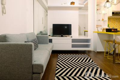 Homey 2BR Green Palace Kalibata Apartment By Travelio