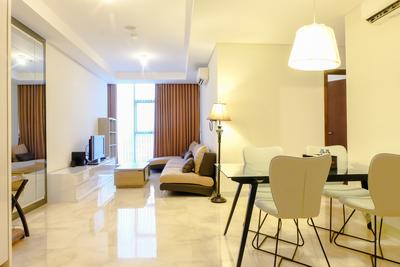 Great Location Pancoran 2BR L'avenue Apartment By Travelio