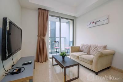 Highest Value 1BR Apartment at Gold Coast PIK By Travelio