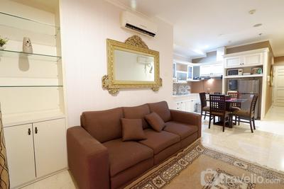 Premium Location 2BR Apartment @ FX Residence By Travelio