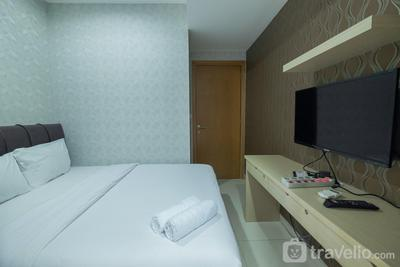 Best View 1BR at The Mansion Kemayoran near JIEXPO By Travelio