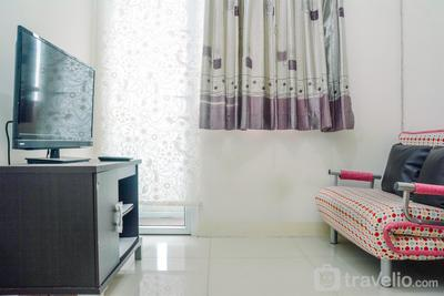 Great 2BR at Green Pramuka Apartment By Travelio