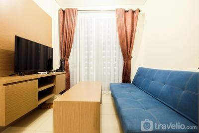 Clean and Comfy 1BR Saveria Apartment near AEON Mall By Travelio