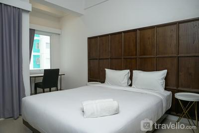Furnished Studio with City View at The Nest Apartment By Travelio