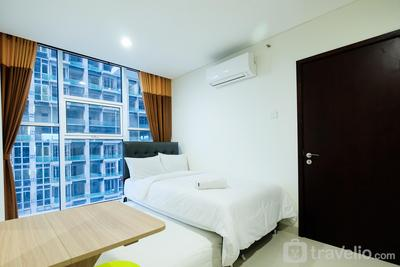 Best Deal 1BR Brooklyn Alam Sutera Apartment By Travelio