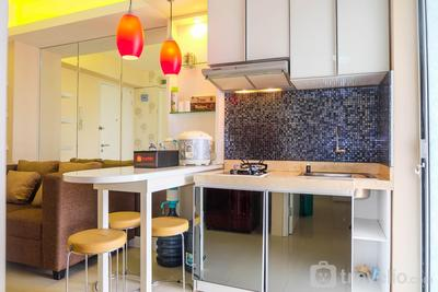 Bright 2BR Apartment at Bassura City near Shopping Mall By Travelio