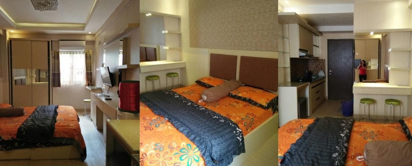 Apartemen Suites @Metro - Standard Studio Room Tower A @ The Suites Metro Bandung Apartment By Yoga