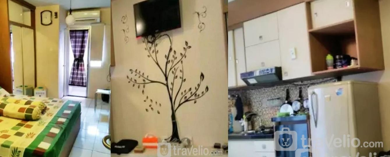 Gunawangsa Merr - Full Furnished Studio Room 8th Floor - B23 At Gunawangsa Merr Apartment