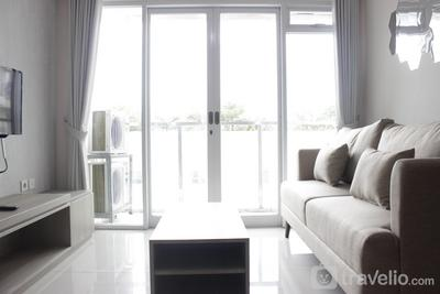 Homey 3BR Apartment at Gateway Pasteur near Exit Toll By Travelio