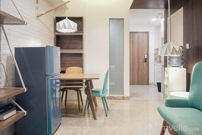 Luxurious 2BR at Skandinavia Apartment By Travelio