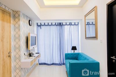 Nice and Prime Location 1BR Casa De Parco Apartment By Travelio