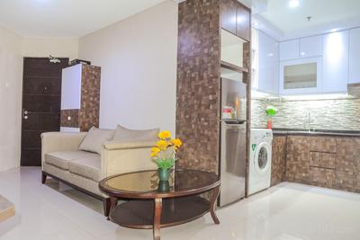 Best Choice 2BR Apartment at Tamansari Semanggi By Travelio
