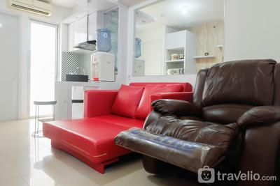 2BR Homey Apartment at Bassura City near Mall By Travelio
