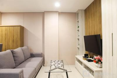 Homey 1BR at Enviro Apartment Cikarang By Travelio