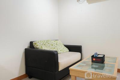 Comfy 1BR at Green Central City Apartment By Travelio