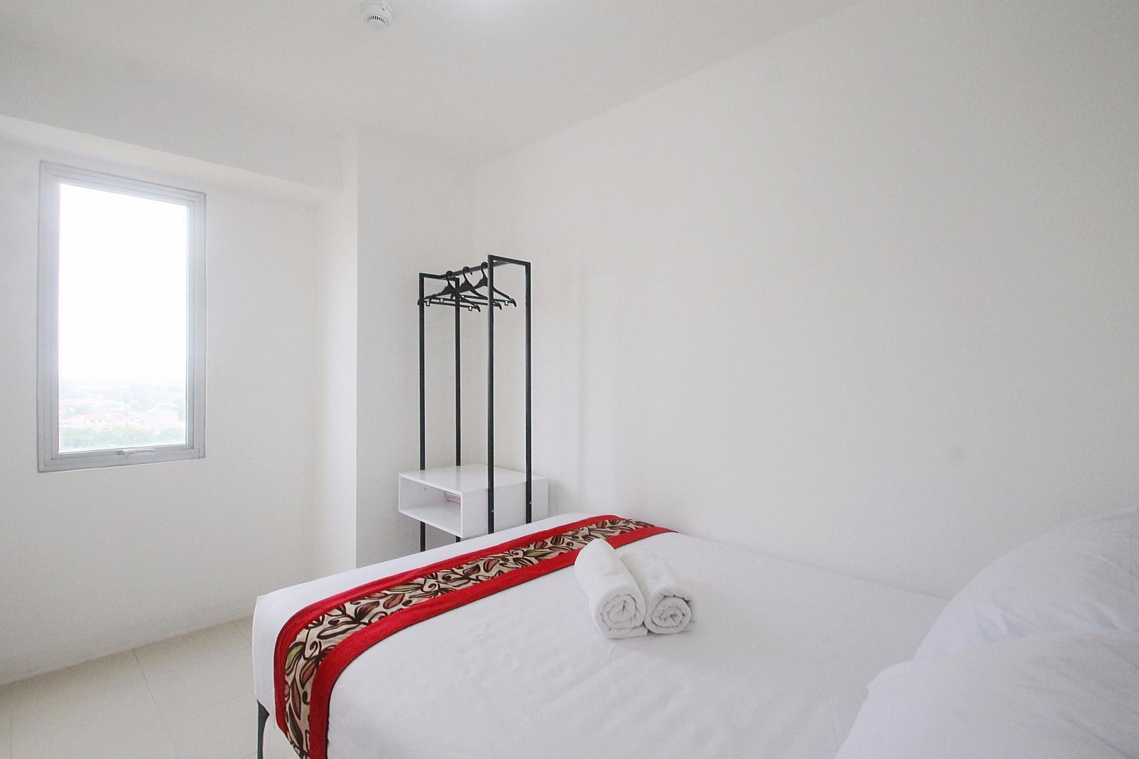 Bassura City Cipinang - 1 BR White Apartment @ Bassura City By The Condotel