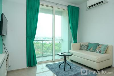 Spacious 2BR with Pool View at CitraLake Suite Apartment By Travelio