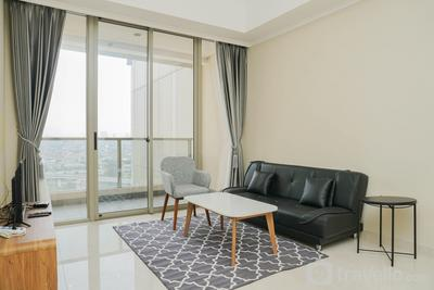 Spacious & Modern 3BR Apartment at Taman Anggrek Residence By Travelio