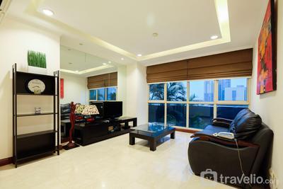 New 2BR Puri Imperium Apartment By Travelio