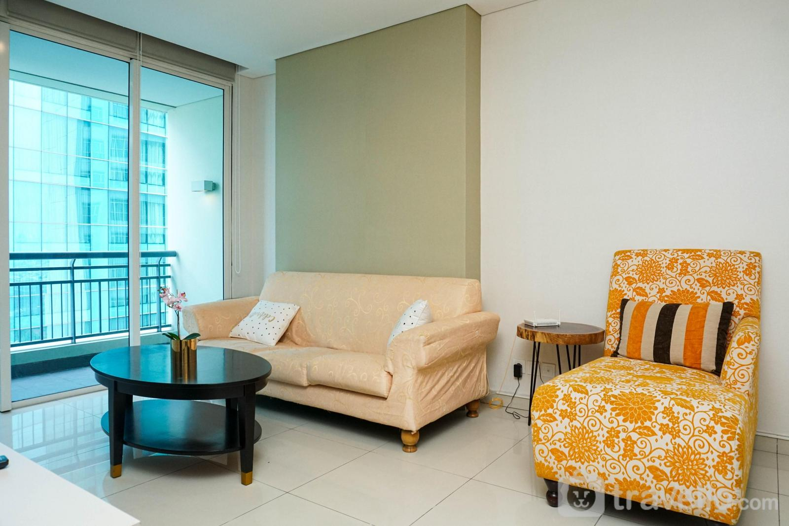 Central Park Residence - 2BR Apartment at Central Park Residence near Mall By Travelio