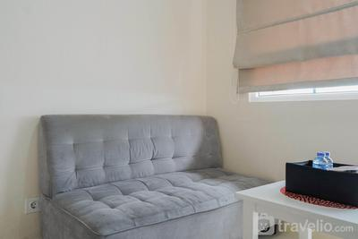 Cozy 2BR for 3 Pax Green Pramuka Apartment By Travelio
