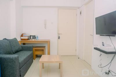 2BR Fully Furnished Modern Bassura City Apartment By Travelio