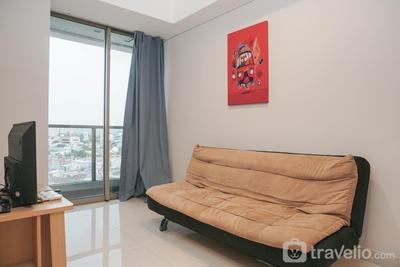 Strategic with City View @ 2BR Taman Anggrek Residence Apartment By Travelio