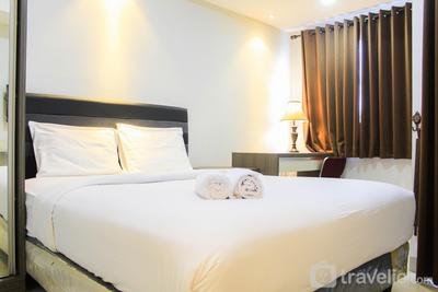 Fully Furnished with Spacious Design Studio Apartment at The Oasis Cikarang By Travelio