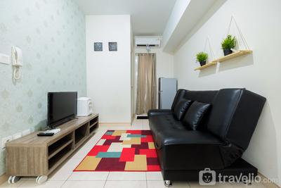 2BR + Sofa Bed The Springlake Summarecon Bekasi Apartment By Travelio