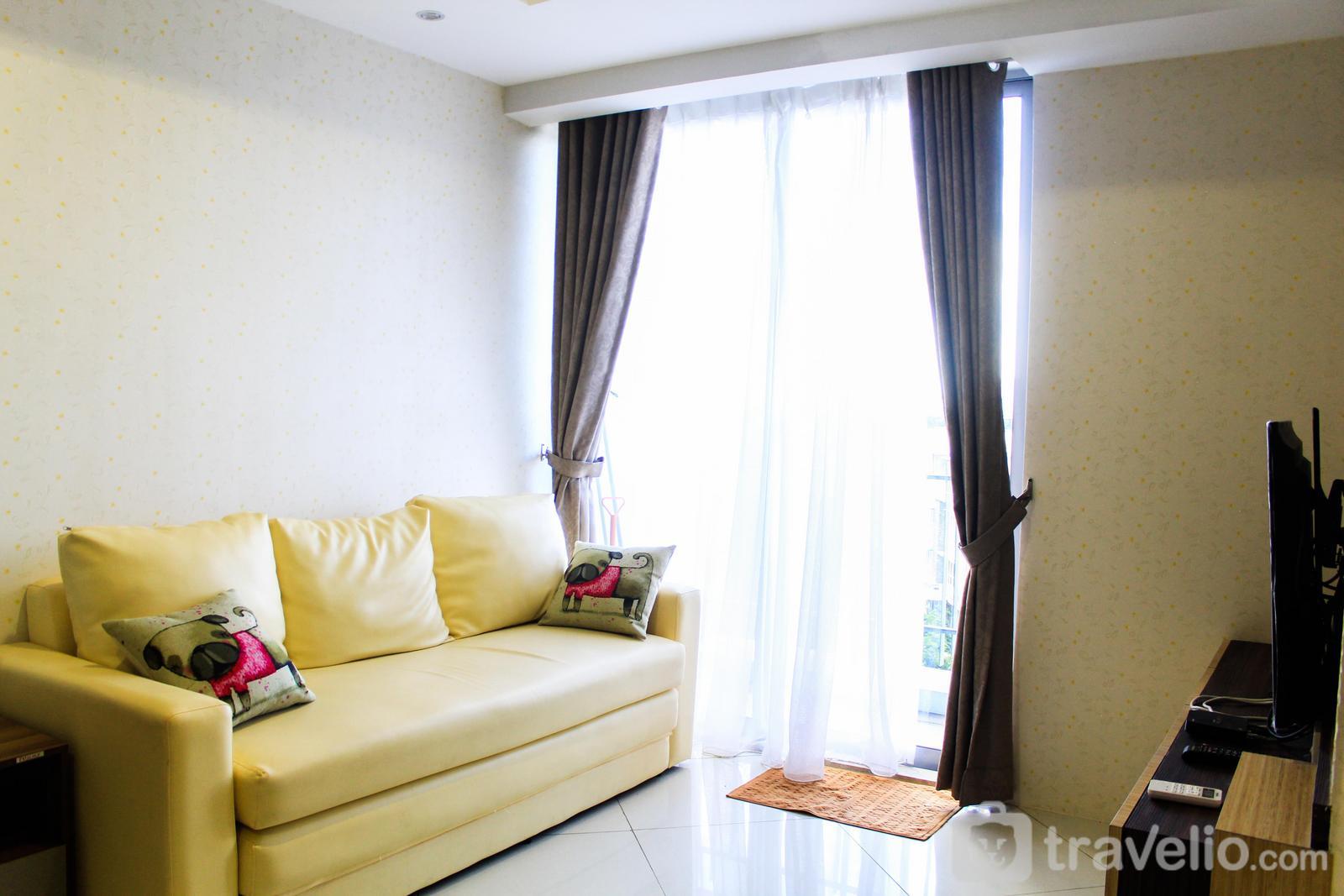 Apartemen The Mansion Kemayoran - Golf View 2BR Apartment @ The Mansion Kemayoran By Travelio