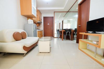 Great Choice and Strategic 1BR Apartment at Thamrin Residence By Travelio