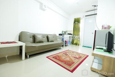 Best Price 2BR Family Apartment at Bassura City By Travelio