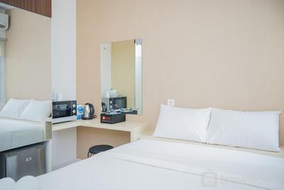 Brand New Studio (No Kitchen) Apartment at Aeropolis Residence 3 By Travelio
