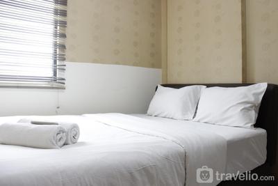 Strategic & Relaxing 2BR at Gateway Apartment Ahmad Yani Cicadas By Travelio