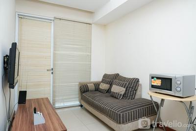 Cozy and Minimalist 2BR at Marbella Kemang Apartment By Travelio