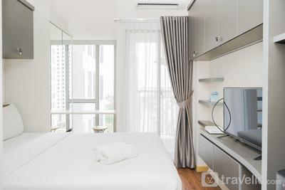 Great Choice Studio Apartment M-Town Residence near Summarecon Mall By Travelio
