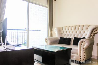 Strategic and Comfy 2BR City Home MOI Apartment By Travelio