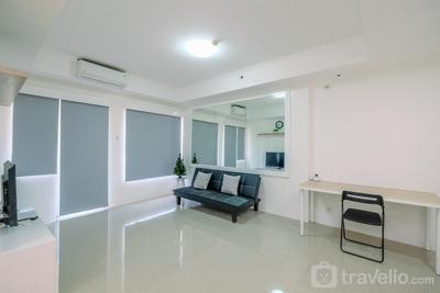 Gorgeous 3BR at Sudirman Park Apartment near LSPR By Travelio