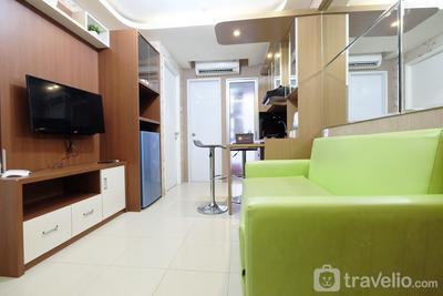 Extravaganza 2BR Bassura City Apartment By Travelio