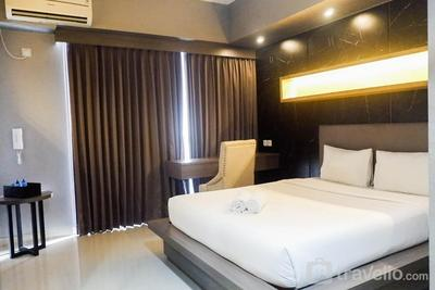 Modern Spacious Studio Room Apartment at Taman Melati By Travelio