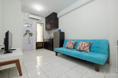 Minimalist 2BR Apartment at Gading Nias Residence By Travelio