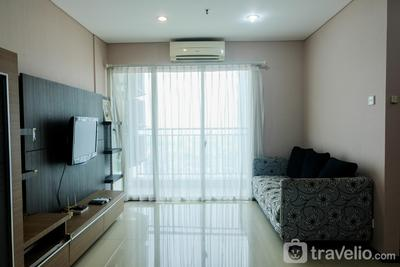 Exclusive and Cozy 3BR Apartment @ Thamrin Residence By Travelio