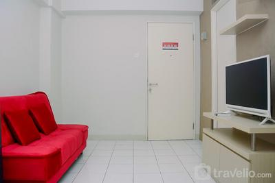 Best Location Kalibata City 2BR Apartment near Kalibata Station By Travelio