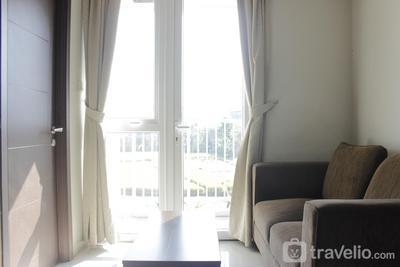 Homey 2BR Apartment at Skyland City Jatinangor By Travelio
