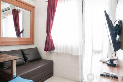Relax and Stylish 2BR Apartment at Green Pramuka By Travelio