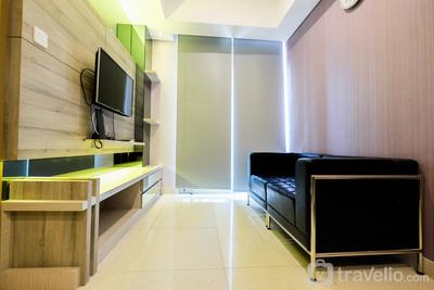 Luxury 1BR Apartment Taman Anggrek Residence By Travelio